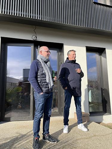 François Bascou et Eric Mayri de Klima