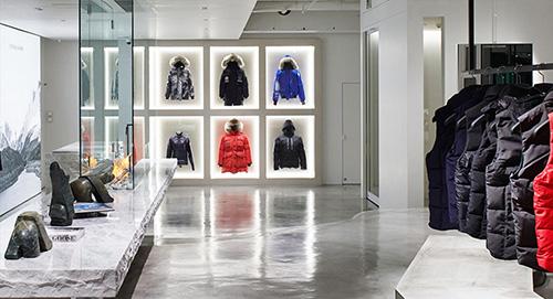Boutique Canada Goose Paris
