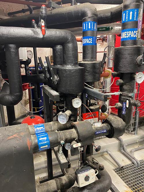 Systeme eau froide Klima Canada Goose Paris