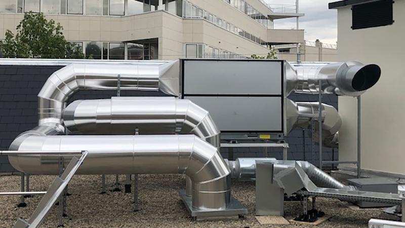 Klima-IDF réalise la climatisation du bâtiment Felix Eboue Paris de BNP REIM Parisbas