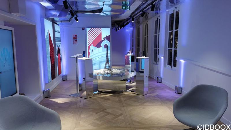 Flagship Huawei Paris Klima IdF