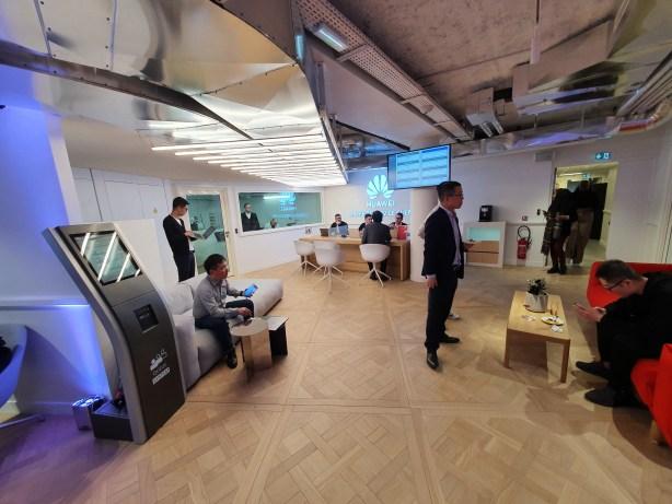 Huawei Store Paris opéra climatisation par Klima